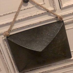 Farmhouse antique iron envelope